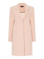 Therapy Boucle Boyfriend Coat Nude