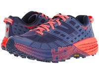 Hoka One One Speedgoat 2 Marlin Blue Ribbon Running Shoes