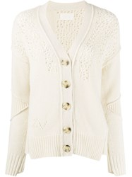 Zadig And Voltaire Elton Mixed Weave Cardigan 60