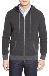 Ag Jeans 'Archer' Zip Front Hoodie Charcoal