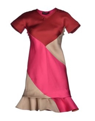 Ostwald Helgason Short Dresses Brick Red