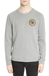 Versace Men's Sweatshirt With Patch