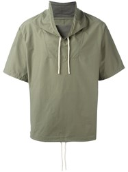 Saturdays Surf Nyc Caleb Windbreaker Green
