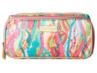 Lilly Pulitzer Make It Cosmetic Case Multi Dripping In Jewels Cosmetic Case