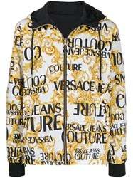 Versace Jeans Couture Logo Baroque Track Jacket Black