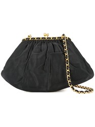 Chanel Vintage Chain Shoulder Bag Black