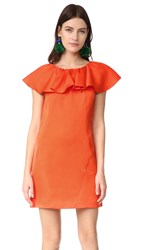 Zac Posen Dottie Dress Flame