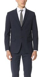 Theory Wellar Suit Jacket Navy