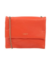 Lanvin Handbags Orange