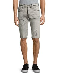 True Religion Rocco Shorts With Flap Light Rail