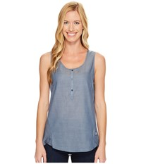 The North Face Touring Tank Top Chambray Blue Women's Sleeveless