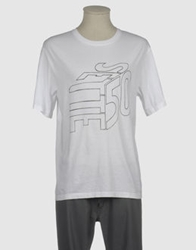 G750g Short Sleeve T Shirts White