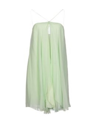 Tua Nua Short Dresses Light Green