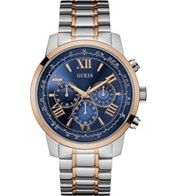Guess W0379g7 Horizon Two Tone Watch