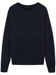 Jaeger Crew Neck Jumper Navy