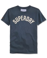 Superdry Men's Graphic Print T Shirt Rich Navy