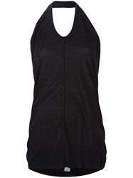 Rick Owens Halter Neck Top Black