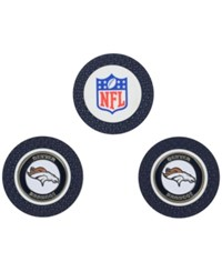 Team Golf Denver Broncos 3 Pack Poker Chip Markers Orange