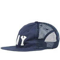 Ebbets Field Flannels New York Black Yankees 1936 Trucker Cap Blue