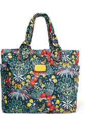 Marc By Marc Jacobs Tate Floral Print Quilted Shell Tote Multi