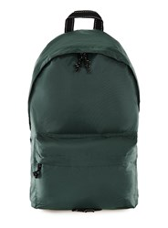 Topman Green Ripstop Backpack