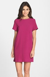 Women's Felicity And Coco Crepe Shift Dress Magenta