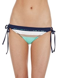 Sperry Block And Shock Hipster Swim Bottom Seafoam