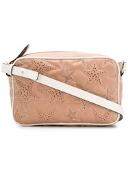 Red Valentino V Perforated Star Camera Bag Neutrals