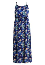 Noisy May Nmdaisy Maxi Dress Navy Blazer Dark Blue