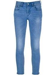 Burberry Brit Stone Washed Skinny Jean Blue