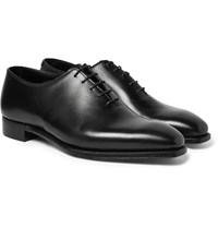 George Cleverley Alan 3 Whole Cut Leather Oxford Shoes Black