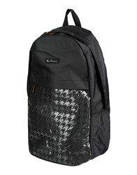 Ben Sherman Bags Rucksacks And Bumbags Men Black