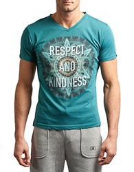 Spenglish Respect And Kindness Tee Teal