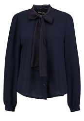 Sister Jane Wishing Well Blouse Navy Dark Blue