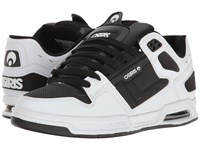Osiris Peril White Black White Men's Skate Shoes
