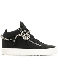 Giuseppe Zanotti Design Side Zip Sneakers Black