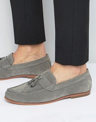 Lambretta Tassel Loafers In Grey Grey