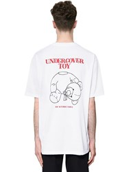 Undercover Printed Cotton Jersey T Shirt White