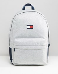 Tommy Hilfiger Retro Backpack Exclusive To Asos In Grey Grey