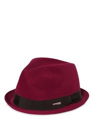 Dsquared Wool Felt Fedora Hat