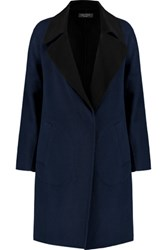 Rag And Bone Thelma Wool Felt Coat Navy