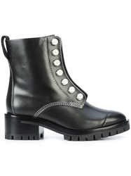 3.1 Phillip Lim Hayett Lug Sole Pearl Boots Women Calf Leather Leather Plastic Rubber 39 Black