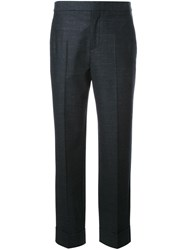 Maison Martin Margiela Slim Fit Tailored Trousers Grey