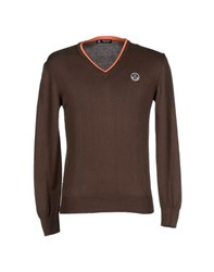 North Sails Knitwear Jumpers Men Dark Brown