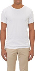 Barneys New York Basic Crewneck T Shirt White