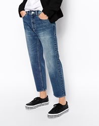 Weekday Cropped Jeans Blue