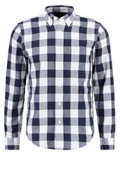 Abercrombie And Fitch Shirt Navy White Dark Blue