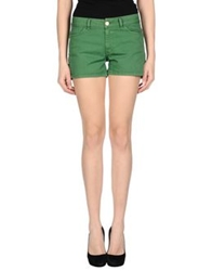 .Tessa Denim Shorts Green