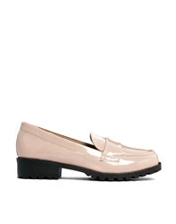 Truffle Collection Truffle Chunky Flat Loafer Pink