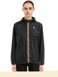 K Way Le Vrai 3.0 Claudette Nylon Jacket Black
